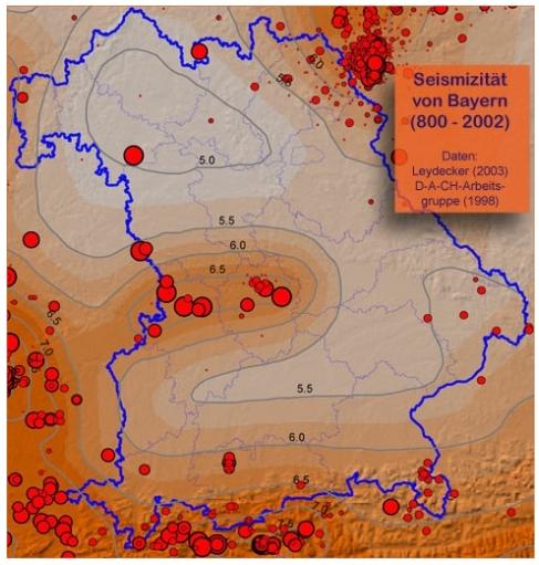 Erdbeben Bayern