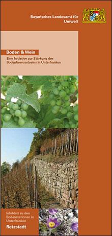Titelbild zu: Boden und Wein-Bodenstation Retzstadt