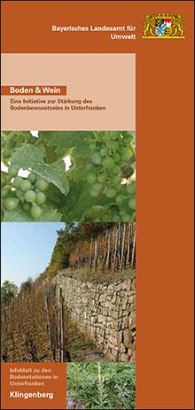 Titelbild zu: Boden und Wein-Bodenstation Klingenberg