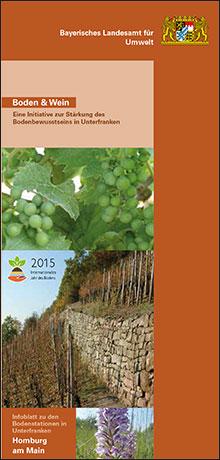 Titelbild zu: Boden und Wein-Bodenstation Homburg am Main