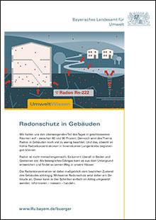Titelbild zu: Radonschutz in Gebäuden