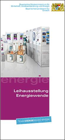 Titelbild zu: Leihausstellung Energiewende - Faltblatt zur Bewerbung