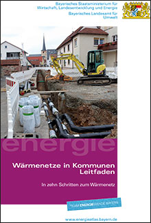 Titelbild zu: Wärmenetze in Kommunen - In zehn Schritten zum Wärmenetz