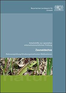 Titelbild zu: Arbeitshilfe zur speziellen artenschutzrechtlichen Prüfung - Zauneidechse - Relevanzprüfung-Erhebungsmethoden-Maßnahmen