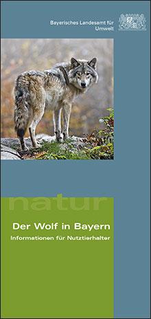 Titelbild zu: Der Wolf in Bayern - Informationen für Nutztierhalter