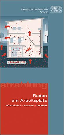 Titelbild zu: Radon am Arbeitsplatz - informieren - messen - handeln
